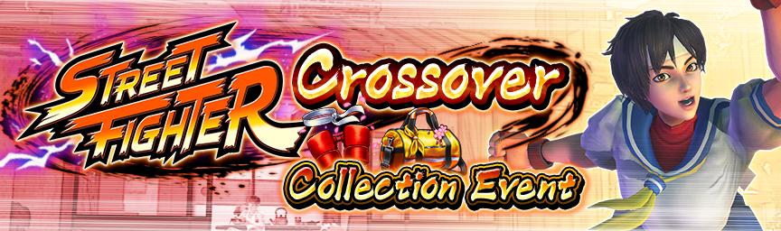 Exchange Event Items to get rewards! STREET FIGHTER Crossover Collection Event underway!